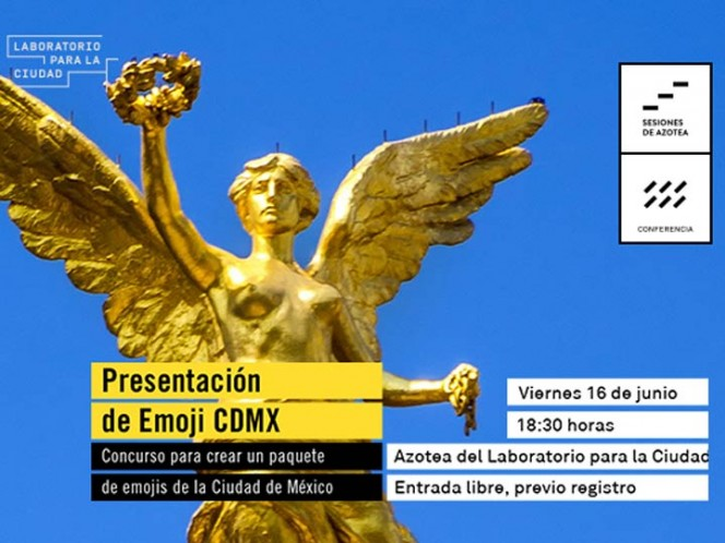 Presentan concurso de creación de emojis sobre CDMX