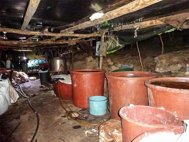 Sedena asegura 4 narcolaboratorios en Sinaloa