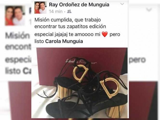 Presume delegado de SEP zapatillas de 17 mil pesos para su esposa
