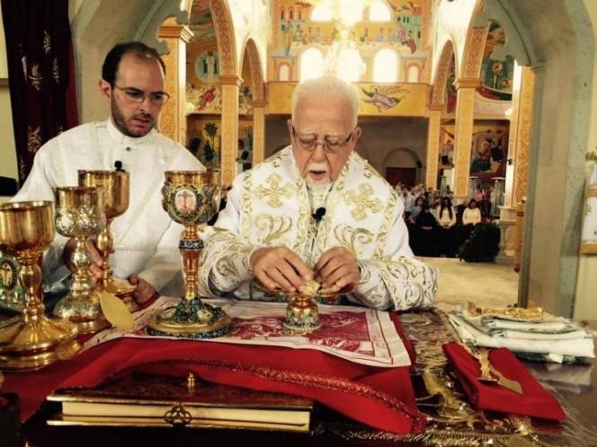 El arzobispo de la Iglesia Ortodoxa de México Venezuela Centroamérica y El Caribe Antonio Chedraoui Tannous