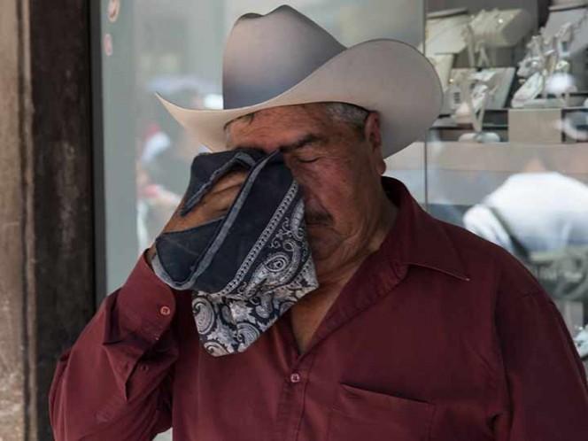 Registran temperatura máxima de 38 grados en Durango