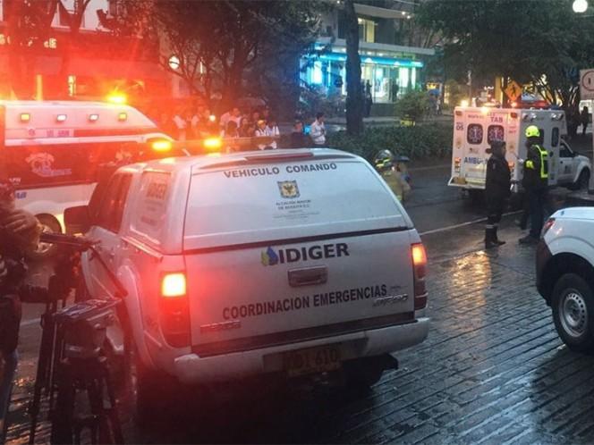 Mujeres, las tres víctimas de atentado en Colombia