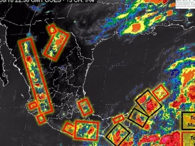 Autoridades esperan ciclón tropical en el Golfo de México