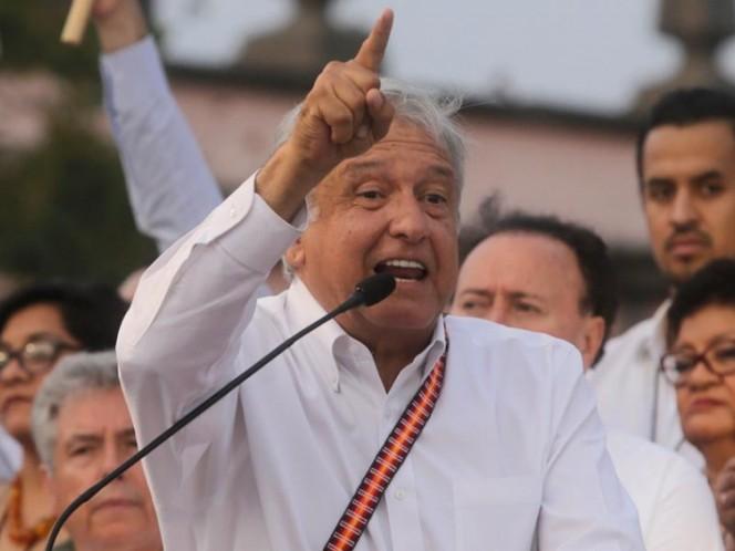 Reitera AMLO que Morena no se aliará con PRI, PAN ni PRD