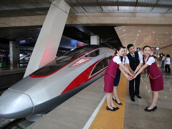'Fuxing', el nuevo tren bala chino que alcanza 400 km/h
