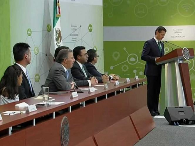 Fuerte avance de las telecomunicaciones en México, Peña Nieto