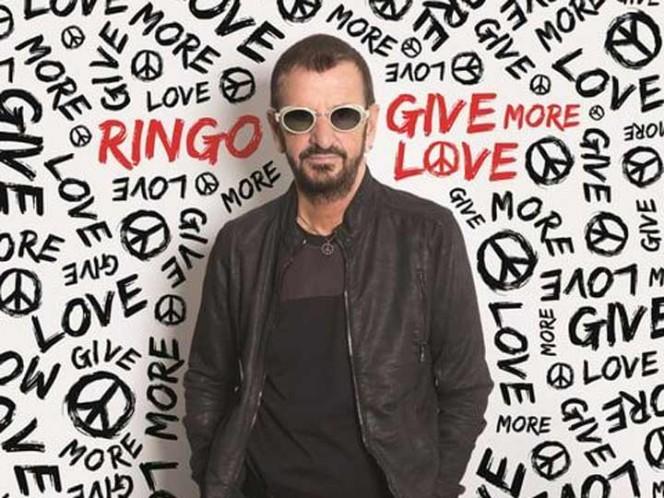 Ringo Star celebra su cumpleaños con disco y con Amor y Paz