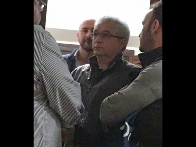 Tomás Yarrington tras ser detenido en abril pasado en Florencia, Italia.