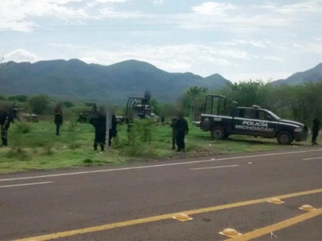 Comando armado ataca a militares en Michoacán