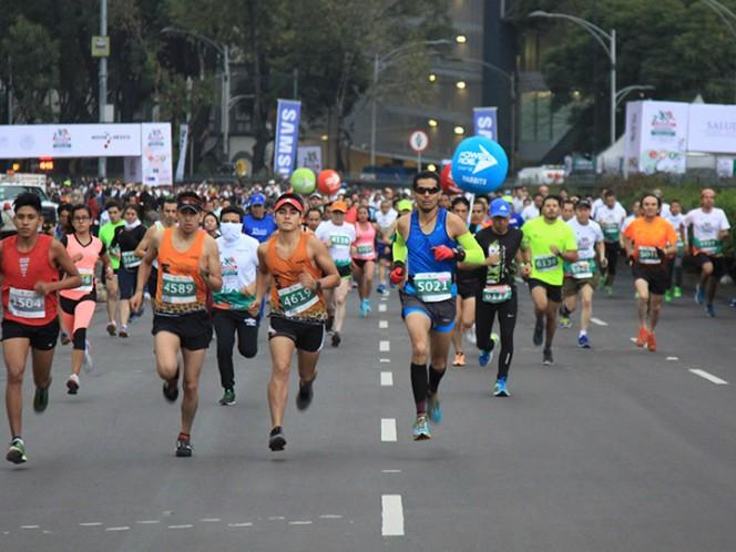 Mexicano y keniana ganan el Medio Maratón de la CDMX