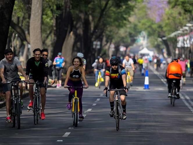 Mapa. Ruta y afectaciones de Medio Maratón CDMX