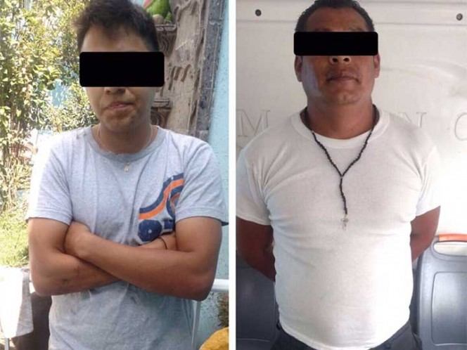 El chofer de 39 años y el vendedor de combustible fueron detenidos. Foto: SSPCDMX