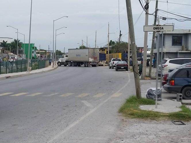 Narcobloqueos en Matamoros, Tamaulipas activan alerta de riesgo