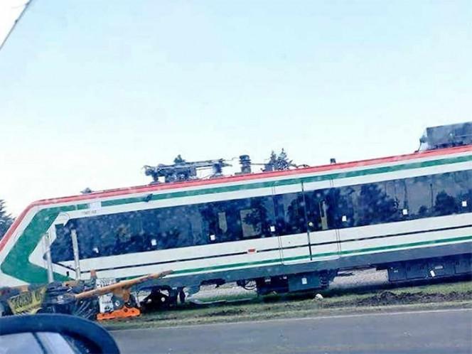 Caída de un vagón del tren interurbano es falsa: SCT