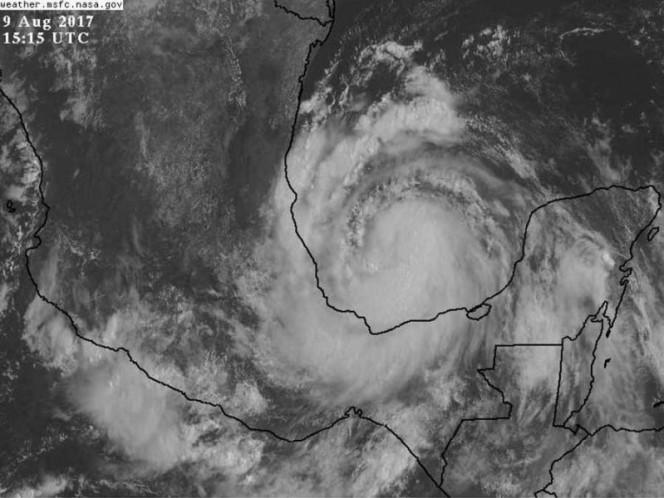 Franklin impactará mañana alrededor de la 1:00 en Veracruz: PC