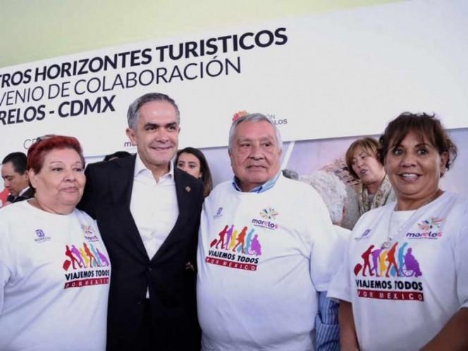 Impulsarán turismo en CDMX y Morelos