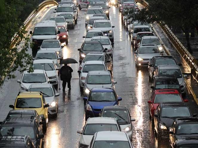 Mantienen alerta amarilla por lluvias en la CDMX