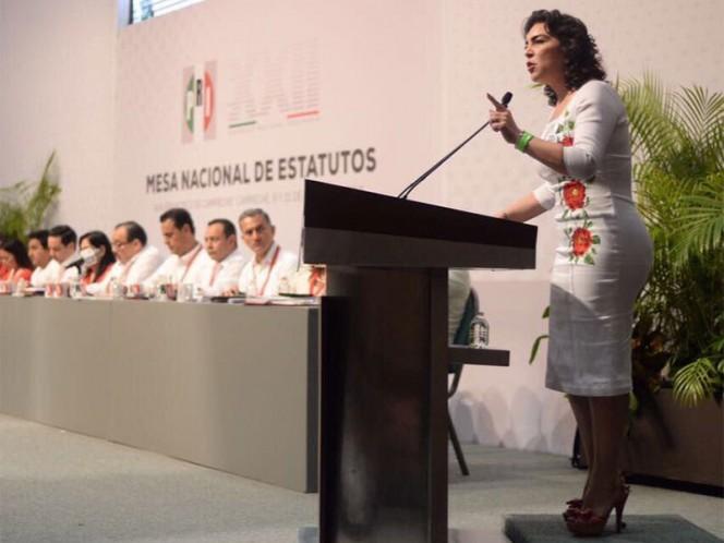Toma Enrique Díaz protesta como nuevo Dirigente del PRI Estatal
