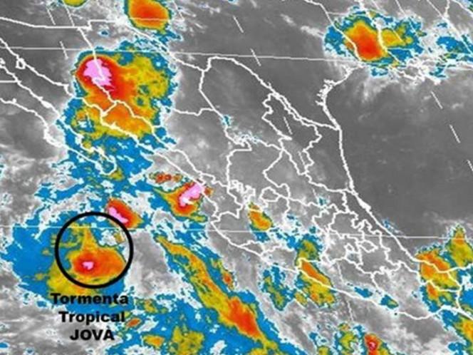 'Franklin' se transforma en tormenta 'Jova' y se aleja por BC