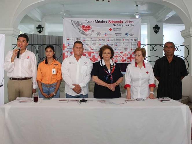 Cruz Roja convoca a carrera Todo México Salvando Vidas