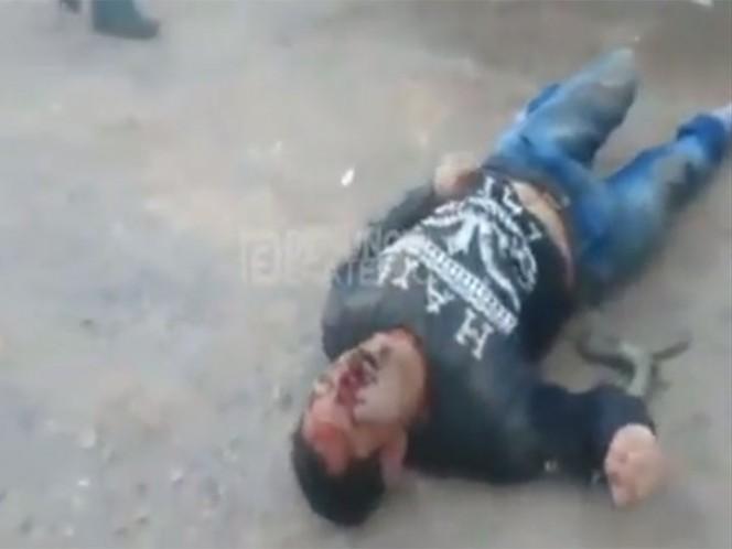 Dos individuos armados dispararon contra ocupantes de autobús que iba al Metro Martín Carrera, mataron al ayudante del conductor. Captura de pantalla