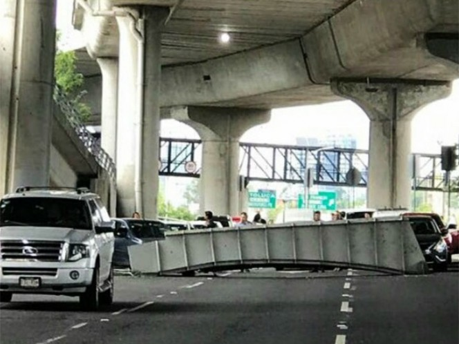 Descartan daños estructurales en Autopista Urbana Norte