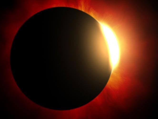 Piden a pobladores no ver eclipse 'al natural'; mejor en la televisión