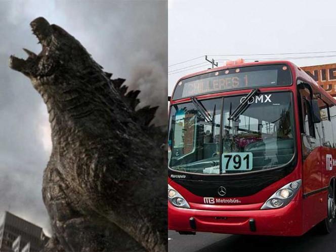 Piden no entorpecer tránsito en el Centro Histórico por filmación de Godzilla