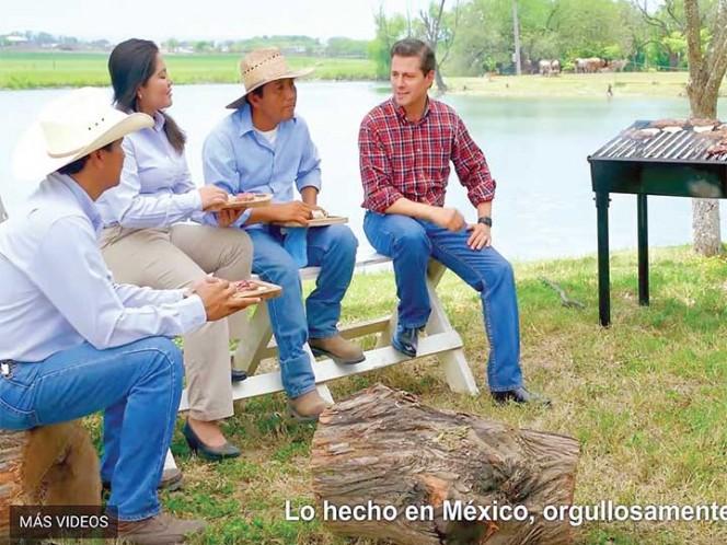 Este viernes, inicia difusión de spots del V Informe de Peña Nieto
