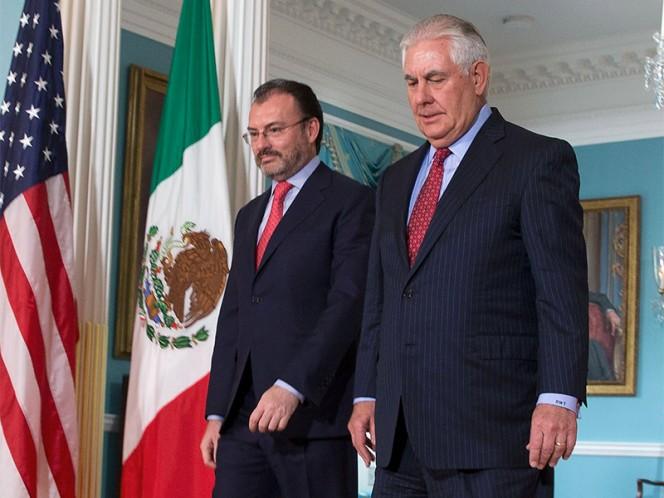 Tillerson agradece generosidad de México