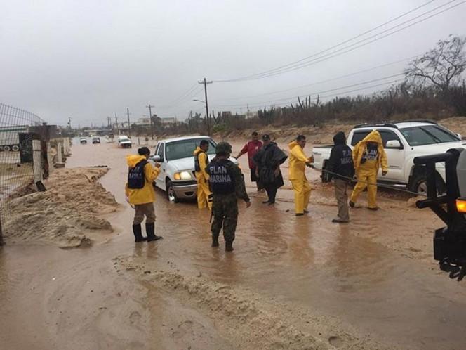 Se prevén tormentas de fuertes a intensas en el occidente del país
