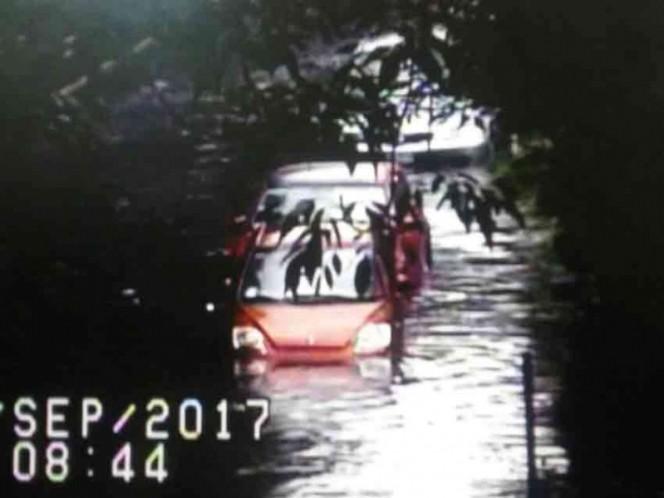 Colapsan lluvias el Sur de la Cdmx