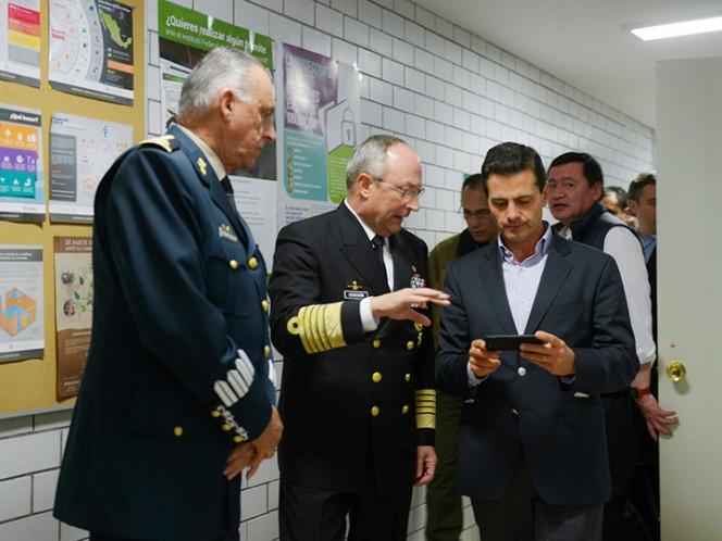 Peña Nieto se traslada a zonas afectadas por terremoto en México — VENEZUELA