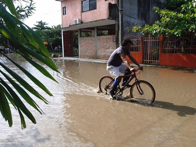 En riesgo latente Jamapa, Medellín, Boca del Río y Veracruz