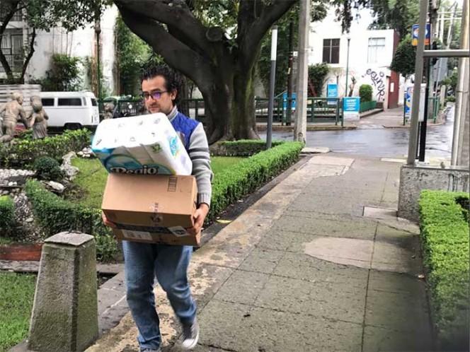 Recaban 30 toneladas de víveres — UNAM se solidariza