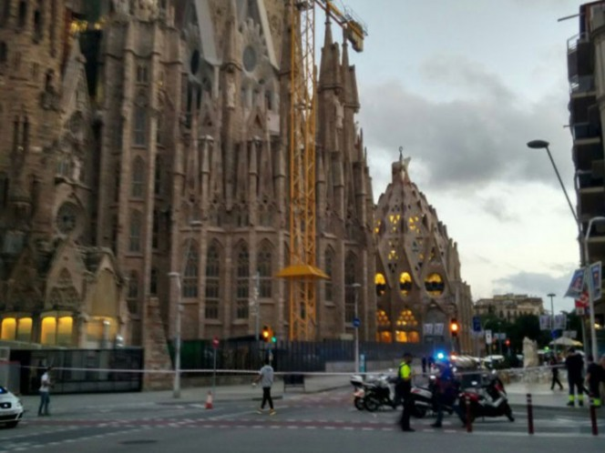 Tensión tras una falsa alarma de atentado en Barcelona