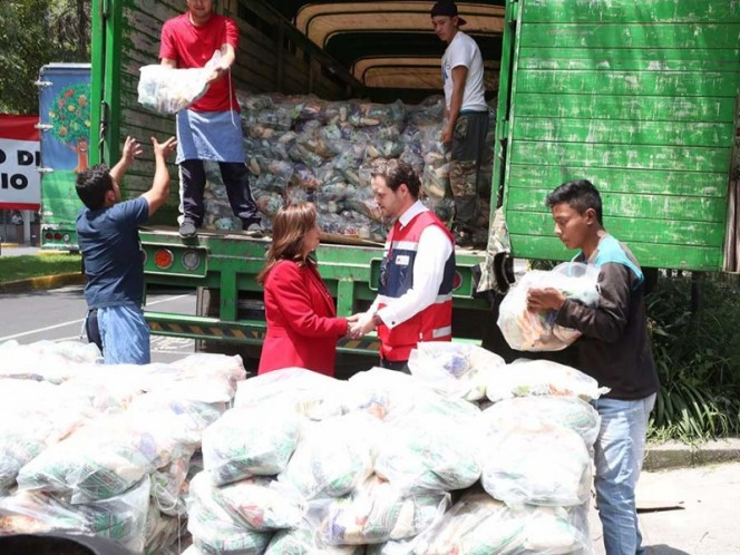 Cruz Roja Mexicana pide ayuda a través de Amazon