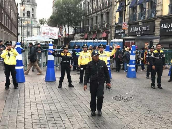 Cierran estación del Metro y circuito del Zócalo por fiestas patrias