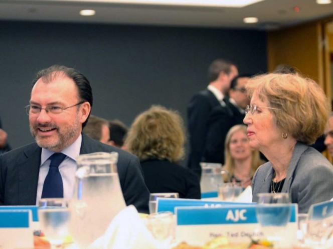 Ya viene la ayuda internacional: Videgaray