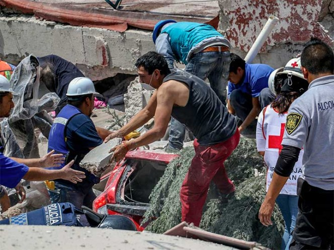 Terromoto en México: la cifra de muertes se eleva a 286