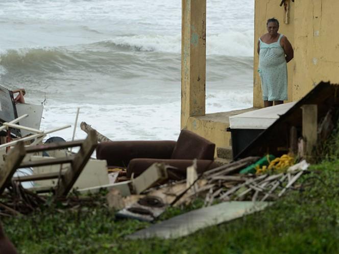 Huracán María arrasó Puerto Rico y la dejó deplorable: Trump