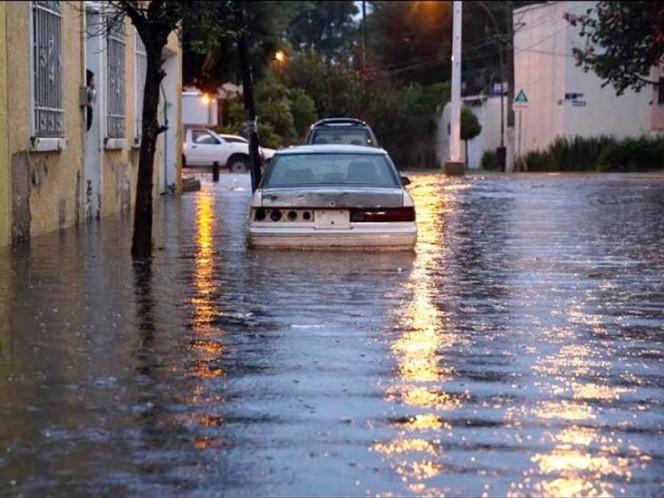 Inundación en Zapopan, Jalisco.