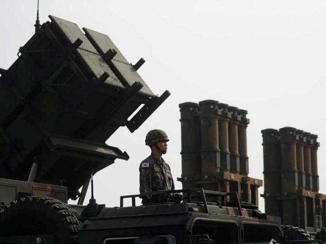 Celebración en Corea del Sur del 'Día de las Fuerzas Armadas' en Pyeongtaek. (Foto: Reuters)