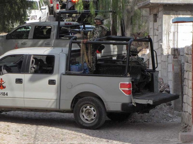 Marinos abaten a líder zeta en Puebla