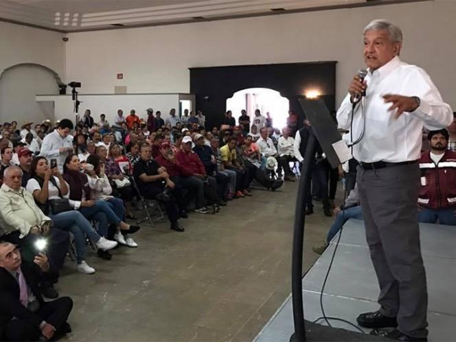 Javier Corral no da el ancho, dice López Obrador