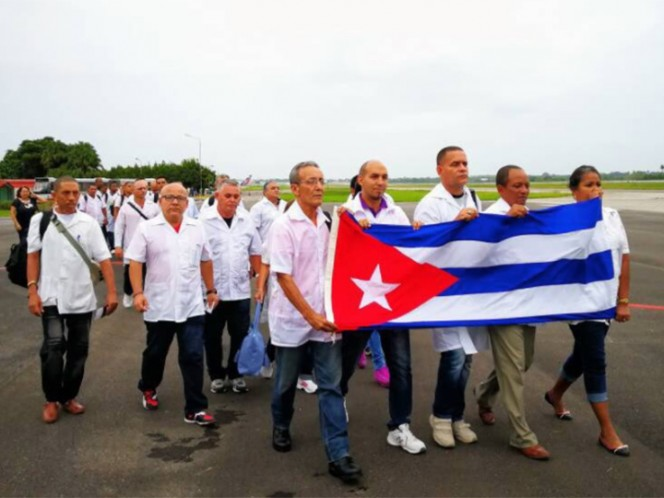 Ya opera en Oaxaca brigada médica de Cuba