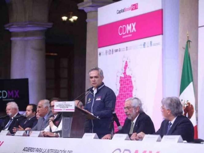 Crean Consejo Científico para la reconstrucción de CDMX