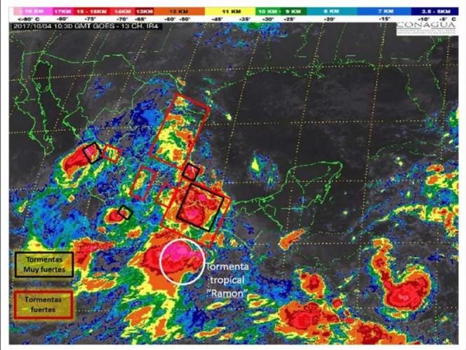 Seguirá lluvia en mayor parte de Oaxaca