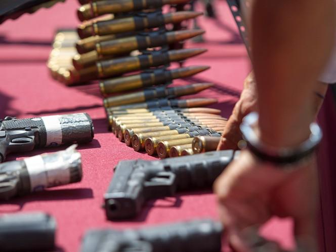 Por portar arma de fuego son condenados a nueve años de cárcel
