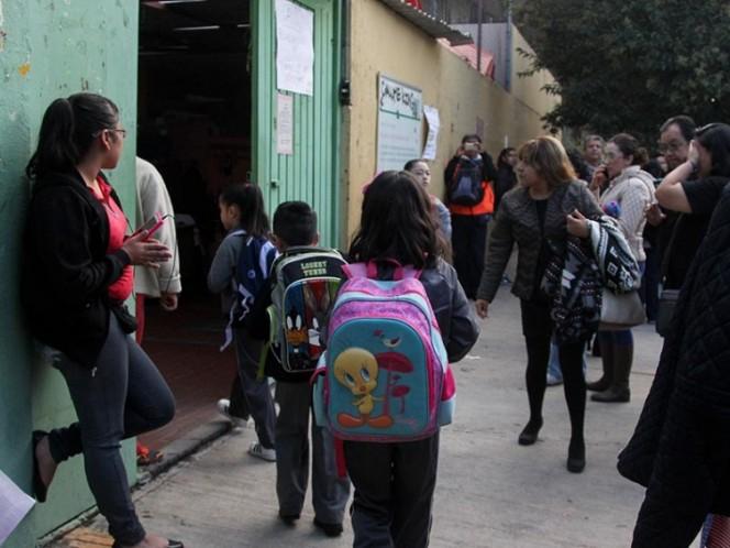 Este lunes regresan a clases otras 2 mil escuelas tras sismos